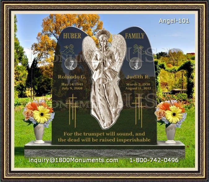 Angel Headstone 101