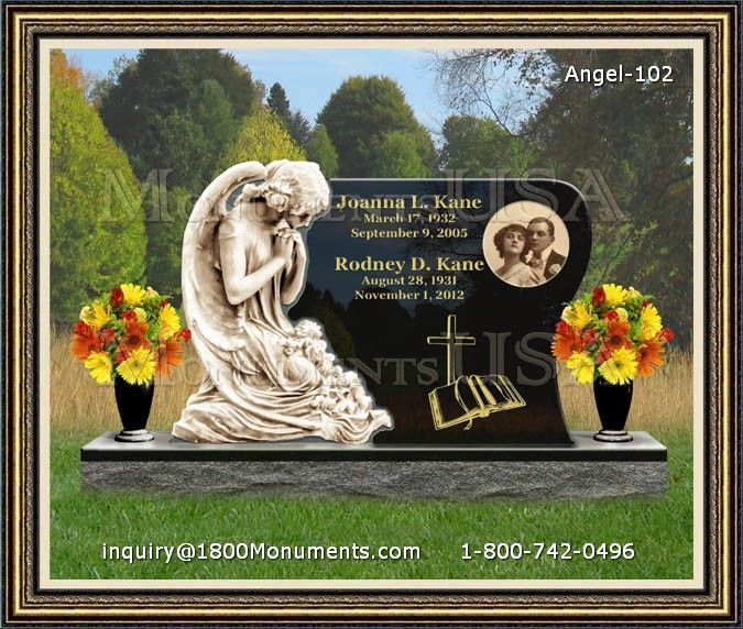 Angel Headstone 102