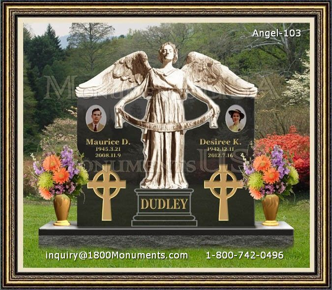 Angel Headstone 103