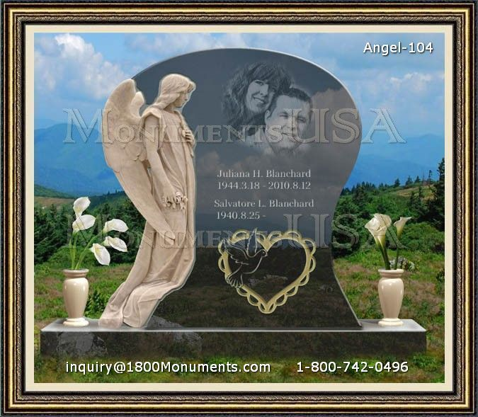 Angel Headstone 104
