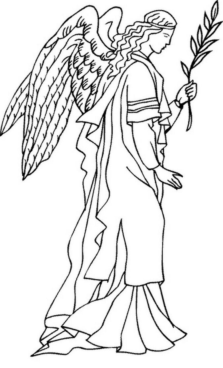 раскраски антистресс ангелы и демоны