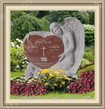 Angel Headstone 004