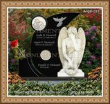 Angel Headstone 012