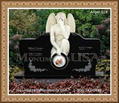 Angel Headstone 018