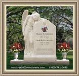 Angel Headstone 020