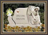 Angel Headstone 021