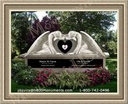 Angel Headstone 025