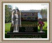 Angel Headstone 029