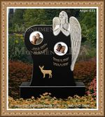 Angel Headstone 033