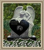 Angel Headstone 035
