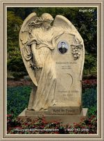 Angel Headstone 041