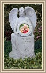 Angel Headstone 045
