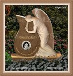 Angel Headstone 048