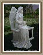 Angel Headstone 049