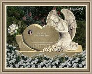 Angel Headstone 051