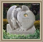 Angel Headstone 053