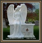 Angel Headstone 054