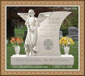 Angel Headstone 056