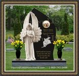 Angel Headstone 066