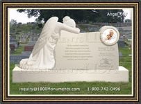 Angel Headstone 067