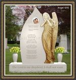 Angel Headstone 070