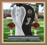 Angel Headstone 071