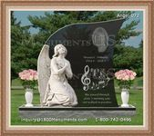 Angel Headstone 072