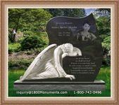 Angel Headstone 073