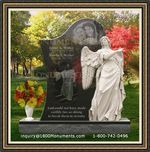 Angel Headstone 078
