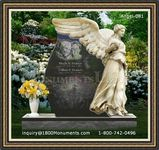 Angel Headstone 081