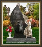 Angel Headstone 082