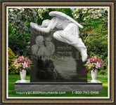 Angel Headstone 083