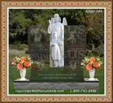 Angel Headstone 084