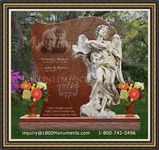 Angel Headstone 086