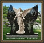 Angel Headstone 090