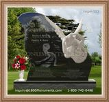 Angel Headstone 093
