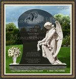 Angel Headstone 094
