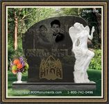 Angel Headstone 096