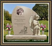 Angel Headstone 099