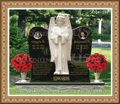 Angel Headstone 111