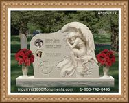 Angel Headstone 117