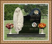 Angel Headstone 118