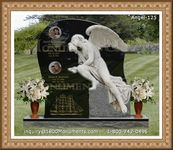 Angel Headstone 125