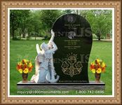 Angel Headstone 126