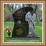 Angel Headstone 127