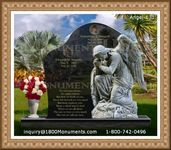 Angel Headstone 131