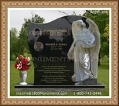 Angel Headstone 134