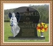 Angel Headstone 135