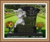 Angel Headstone 137