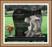 Angel Headstone 138